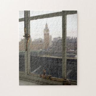 Rainy Day View on Big Ben - London Puzzle