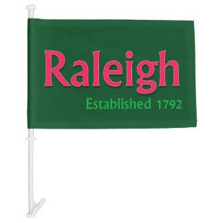 Raleigh Flag Car Flag