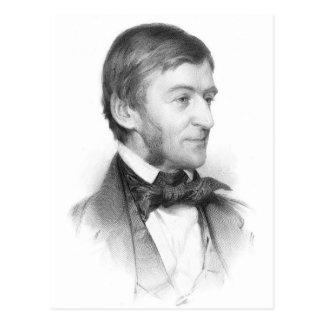 Ralph Waldo Emerson Portrait Postcard