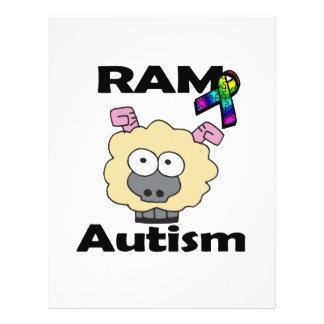 RAM Autism 21.5 Cm X 28 Cm Flyer
