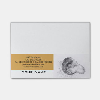 Ram Year - Chinese Astrology Sign Post-it Notes