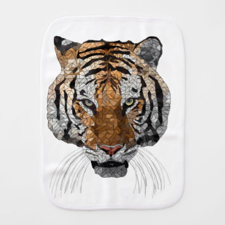 Rama the Tiger Baby Burp Cloths