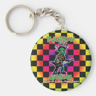 Ramblin Goblin 8bit Keyring (Screech)