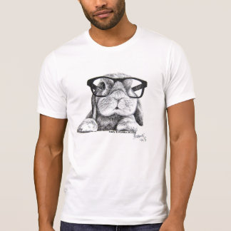Rambo the Hipster Bunny T-Shirt
