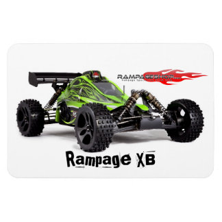 Rampage XB (Green) Fridge / Tool Box Magnet