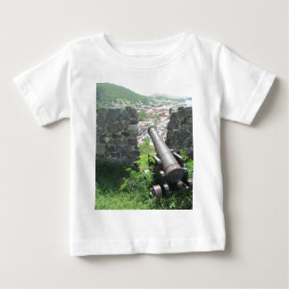 Rampart Cannon Fort Louis Baby T-Shirt