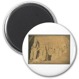 Ramses II. Egypt circa 1870 Magnet