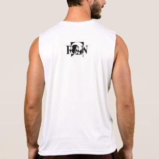 Ran2 Logo Black Singlet