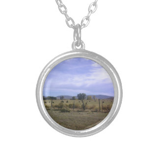 Ranch Life Round Pendant Necklace