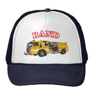 Rand Fire Dept BigBird hat