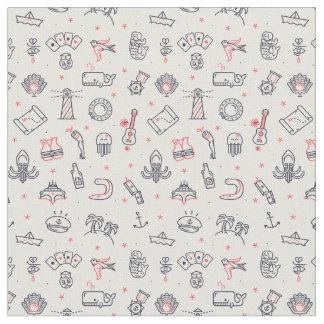 Random Doodles Fabric