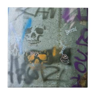 Random Graffiti: Scam Skulls on Pipe Redux Tile