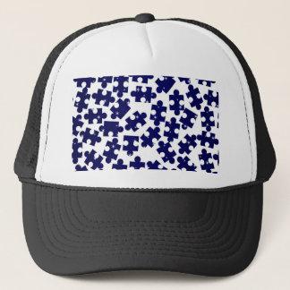 Random Jigsaw Pieces Trucker Hat