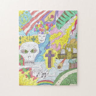 Random Thoughts Jigsaw Puzzle