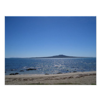 Rangitoto Island, New Zealand Poster