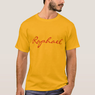 Raphael, just the name shirt