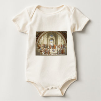 Raphael - School of Athens Baby Bodysuit
