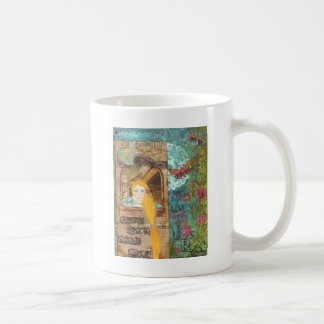 Rapunzel, Dreaming Basic White Mug