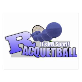 Raquetball My Sport! Postcard