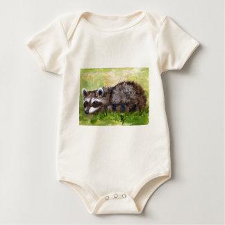 Rascal aceo Raccoon Infant Creeper