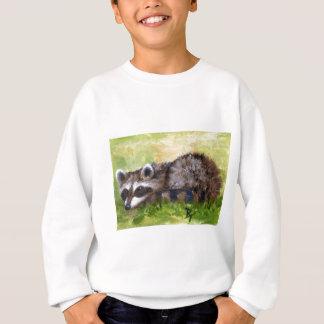Rascal aceo Raccoon Kids Sweatshirt