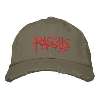 Rascals Logo Distressed Baseball Cap
