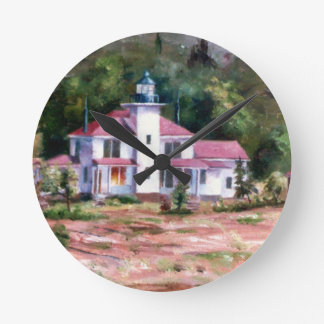 Raspberry Lighthouse Wall Clock