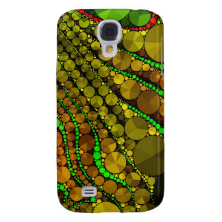 Rasta Abstract Bling Pattern Galaxy S4 Case
