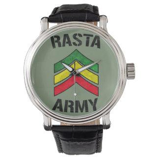 Rasta army watch