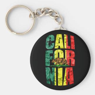 Rasta California Key Ring