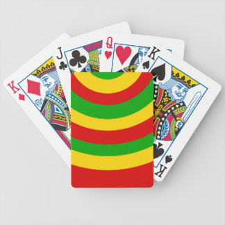 Rasta Curves Bicycle Playing Cards