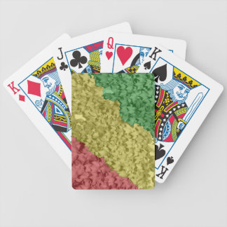 Rasta Leaves Bicycle Playing Cards