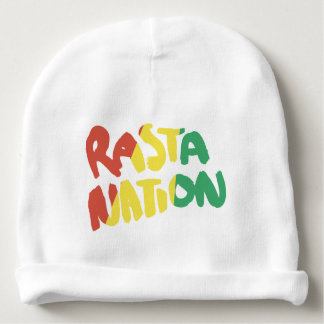 rasta nation reggae graffiti flag baby beanie