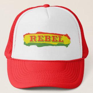 Rasta Rebel Stripes Trucker Hat
