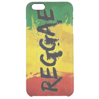 rasta reggae graffiti flag clear iPhone 6 plus case