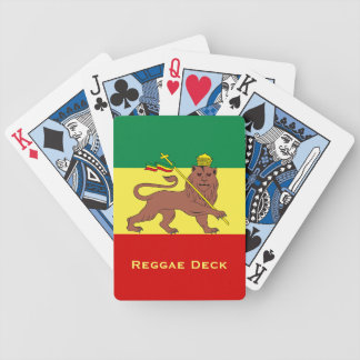 Rasta Reggae Lion of Judah Poker Deck