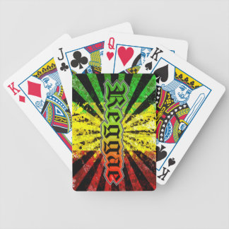 rasta reggae poker deck