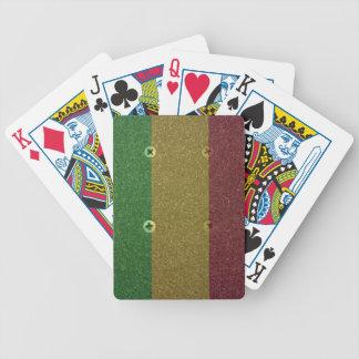 Rasta Skateboard Griptape Poker Deck
