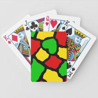 Rasta Spots Poker Deck