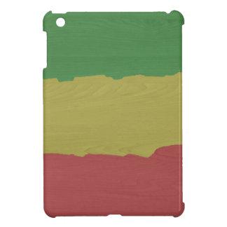 Rasta Wood Grain Cover For The iPad Mini