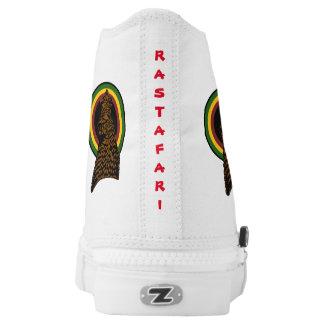 Rastafari High Top Sneakers