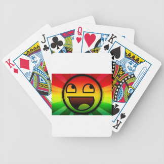 RASTAFARI REGGAE RAP BICYCLE PLAYING CARDS