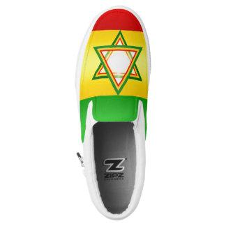 Rastafarian Slip-On Shoes