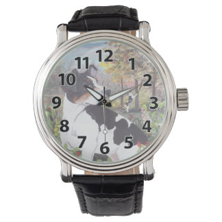 Rat Terrier Puppy Dreamer Wristwatch