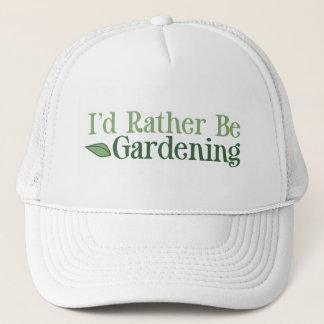 Rather Be Gardening (Leaf) Trucker Hat