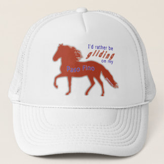 Rather Be Gliding Paso Fino Trucker Hat