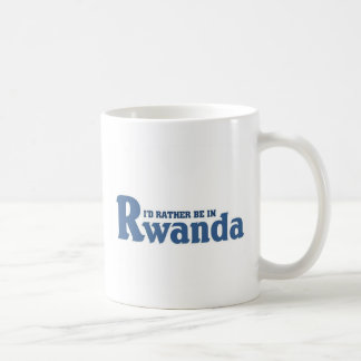 Rather be in Rwanda Coffee Mug