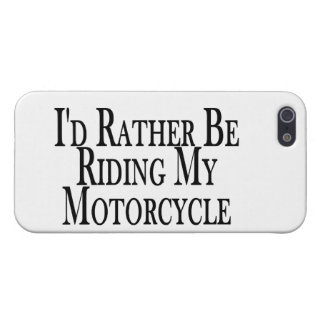 Rather Be Riding My Motorcycle iPhone 5/5S Case