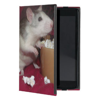 rats eating popcorn iCase for the iPad mini Cover For iPad Mini