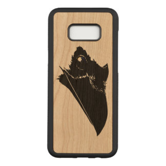 Raven Carved Samsung Galaxy S8+ Case